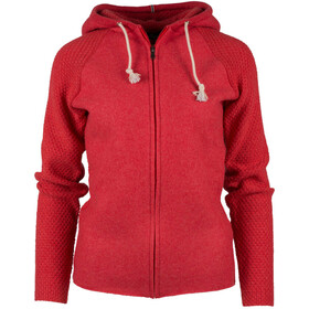 """Amundsen Sports W´s Boiled Hoodie Jacket Weathered Red"""